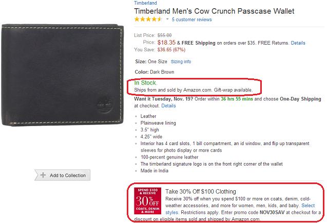timeberland Wallet
